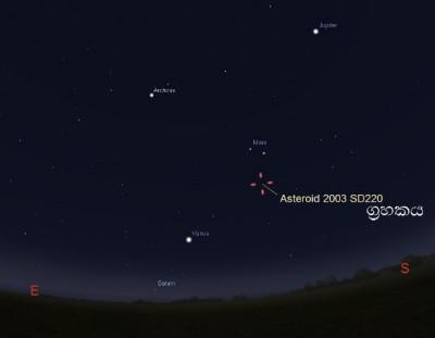Asteroid2003SD220